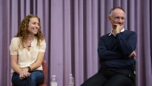 Michael Moritz and Lisa Sugar