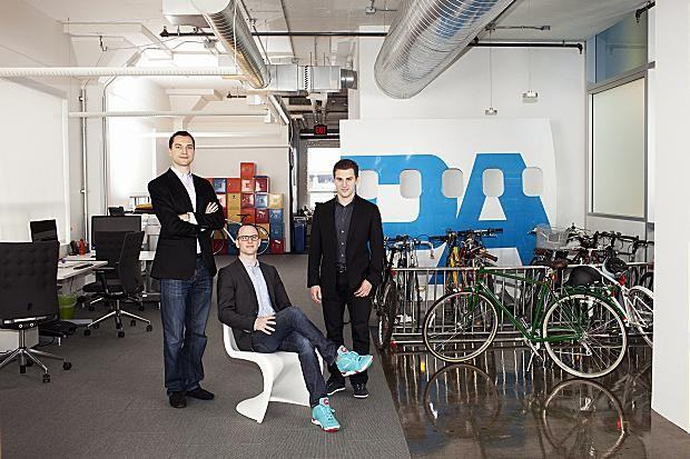 Founders of Airbnb