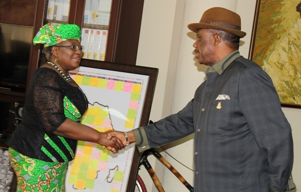 Ngozi Okonjo-Iweala With Willie Obiano