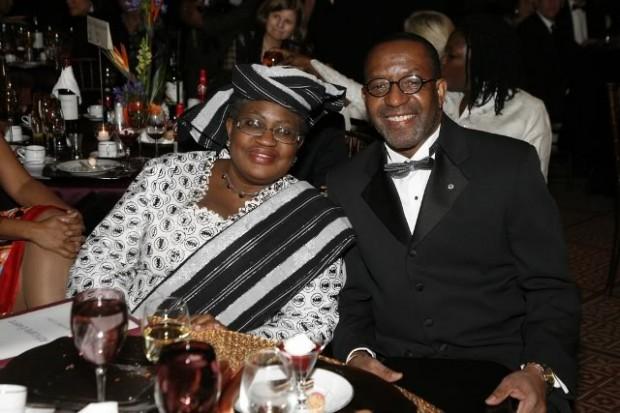 Ngozi Okonjo-Iweala and  Kojo Nnamdi