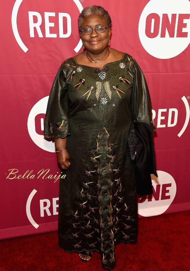 Ngozi Okonjo-Iweala at ONE 10th anniversary celebration