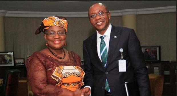 Ngozi Okonjo-Iweala and Godwin Emefiele Nairaland