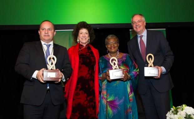 Ngozi Okonjo-Iweala Received David Rockefeller Bridging Leadership Awards