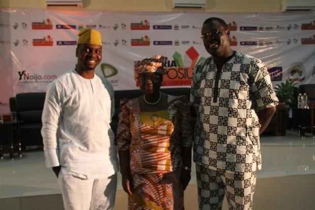 Adebola Williams, Dr Ngozi Okonjo-Iweala and Chude Jideonwo