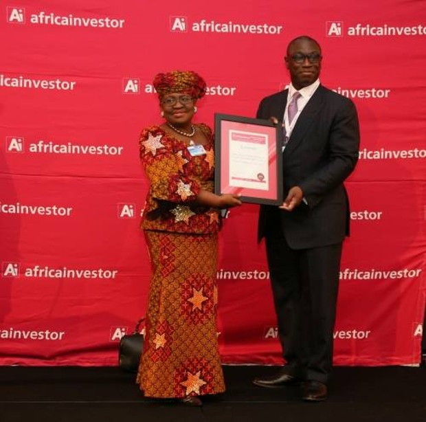 Ngozi Okonjo-Iweala got African Finance Minister Of The Year Award