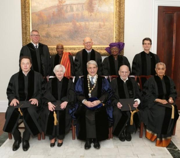 Yale Honours Ngozi Okonjo-Iweala with an Honorary Doctorate Degree