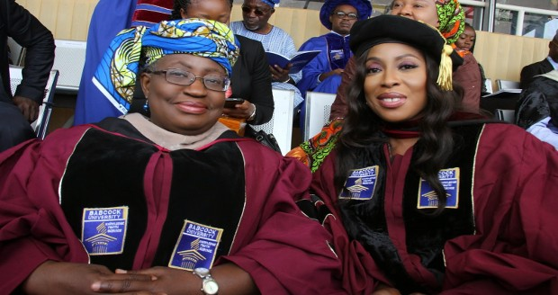 Mo Abudu and Dr. Okonjo-Iweala