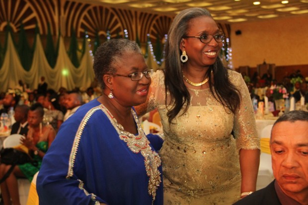 Ngozi Okonjo Iweala and Mrs. Awosika