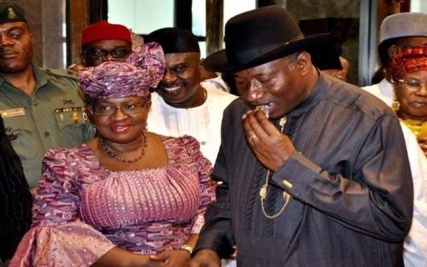Ngozi Okonjo-Iweala With Former President Goodluck Jonathan