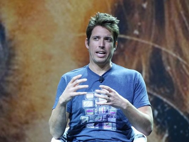 GoPro founder Nick Woodman talks virtual reality at the Consumer Electronics Show in Las Vegas