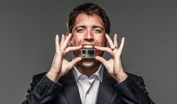 Nick Woodman with a Hero 3 Camera