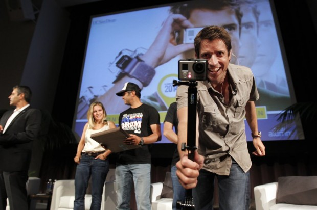 Nick Woodman at University of California in San Diego