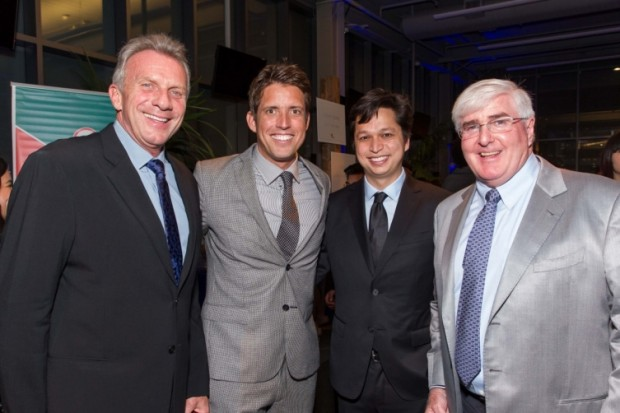 Joe Montana, Nick Woodman, Ben Silbermann and Ron Conway