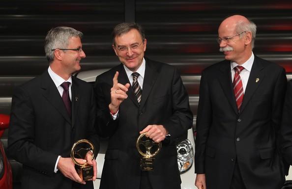 Dieter with Norbert Reithofer Rupert Stadler