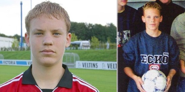 Manuel Neuer in his earlier life