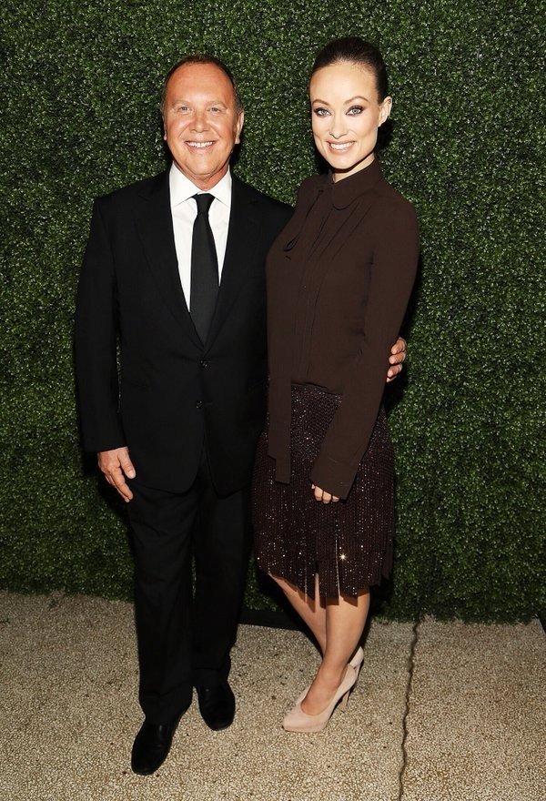 Michael Kors with Olivia Wilde