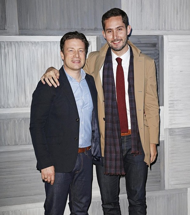 Jamie Oliver and Instagram's Kevin Systrom