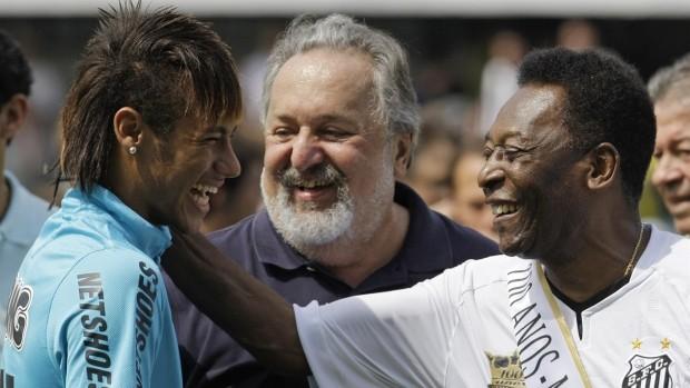 Neymar with Pele