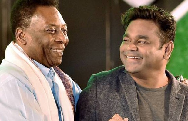Oscar Award Winner, Indian Mucisian AR Rahman with Pele