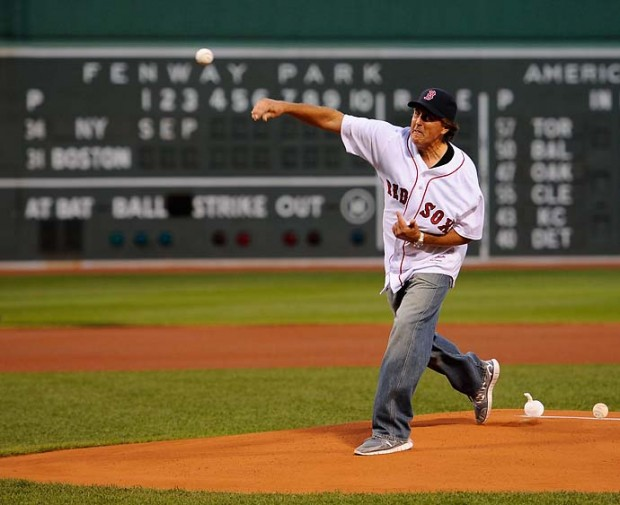 Phil While Bowling