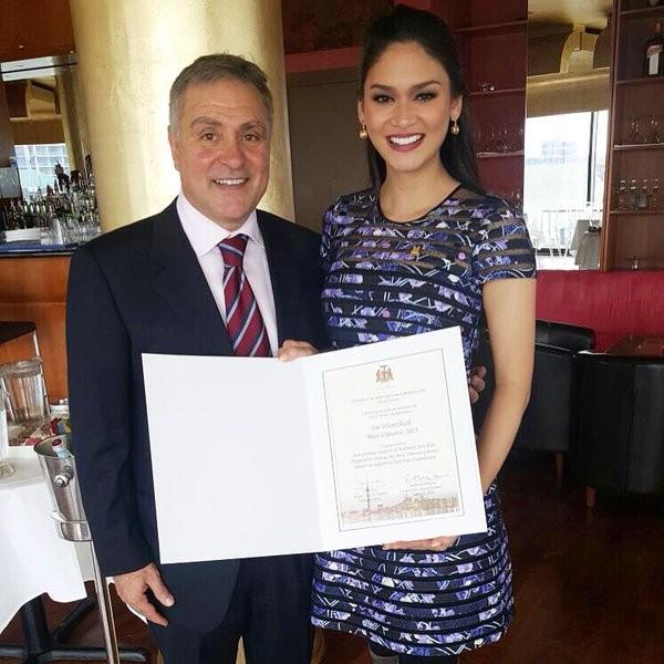 Pia Wurtzbach got a Special Appreciation From Canada