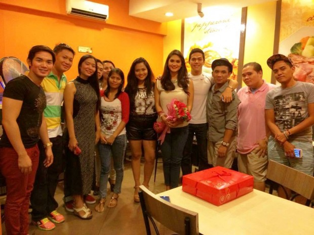 Pia in a Get Together Party