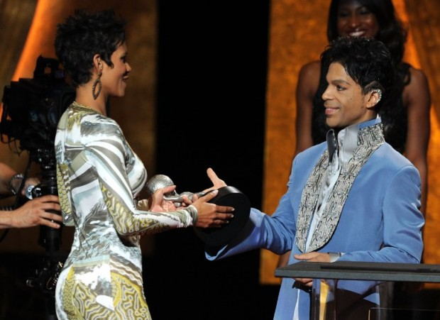 Halle Berry and Prince