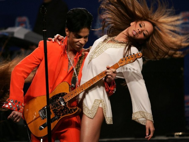 Prince and Beyoncé Knowles