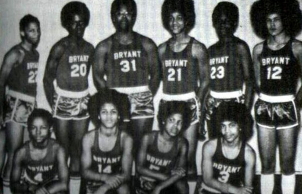 Young Prince with his teammates