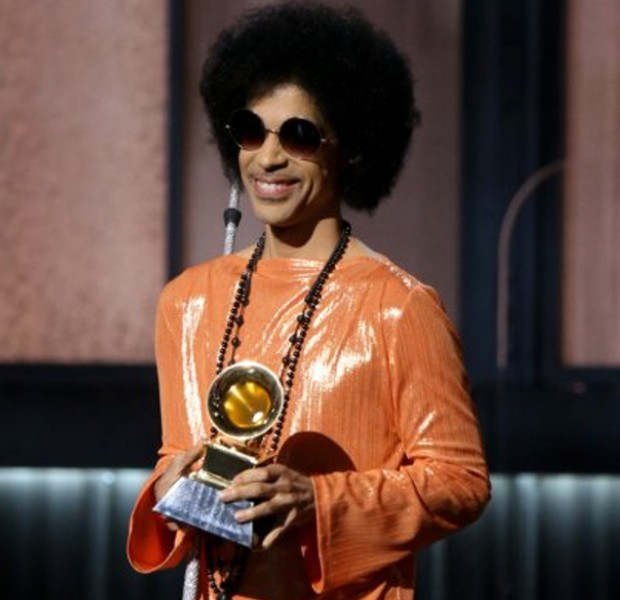 Prince at 57th Annual Grammy Awards