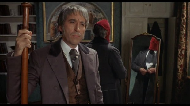 Christopher Lee in Oblong Box