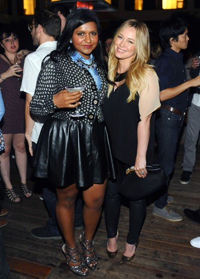 Hilary Duff And Mindy Kaling