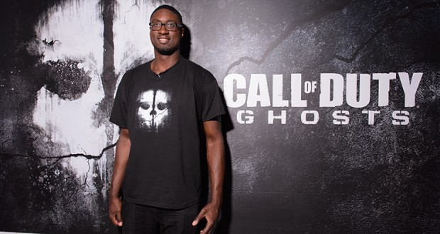 Roy Hibbert At Call of Ghosts Opening