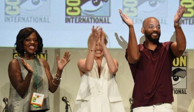 Viola Davis At Suicide Squad Trailer Seen At Comic-Con