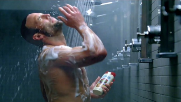 Wes Welker  At Old Spice Advertisement
