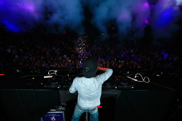 Avicii performs onstage during the 22nd Annual KROQ Weenie Roast