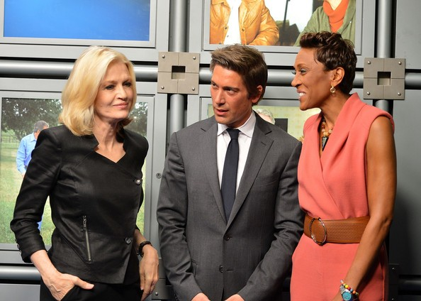 Robin Roberts, Diane Sawyer with David Muir