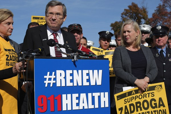 Lawmakers Announce Passage of the James Zadroga 9/11 Reauthorization Act