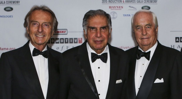 Roger Penske with Ratan Tata
