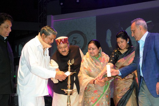 Manoj Bhargav at Inauguration of His Charitable Organization in India