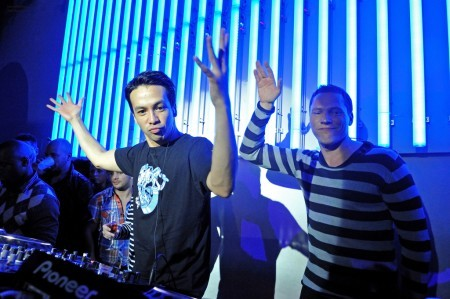 Tiesto and Laidback Luke