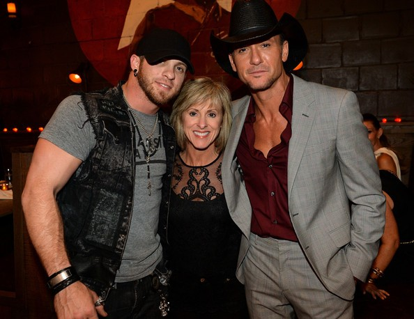 Tim McGraw and Becky Gilbert
