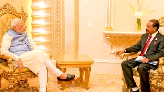 Yusuff With Modi