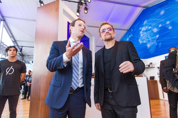 Mark and Bono at United Nations