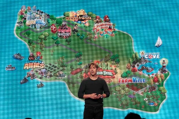 Mark Pincus  Launching Farmville Game