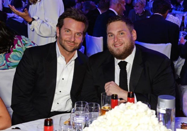 Bradley Cooper and Jonah Hill at GQ Awards