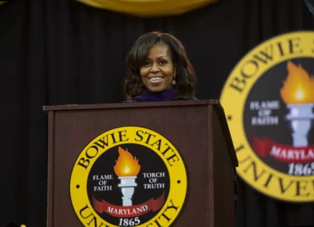 Michelle Obama Speech Bowle State University