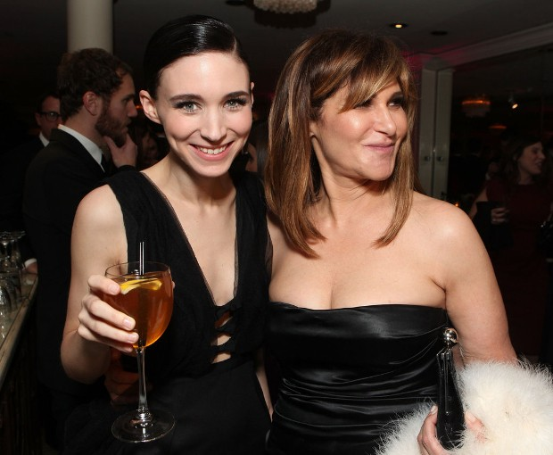 Rooney Mara With Amy Pascal