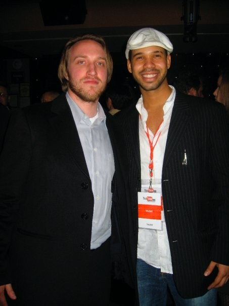 Youtube Co Founder Chad Meredith with Iman Crosson