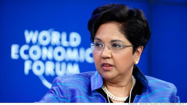 Indra nooyi at Qorld Economic Forum